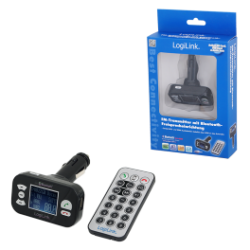 Logilink fm transmitter with bluetooth