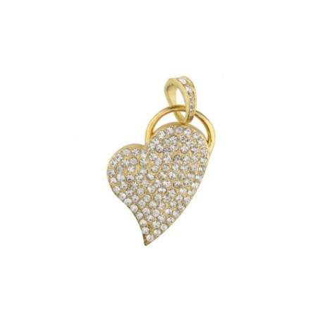 Diamant usb hjerte