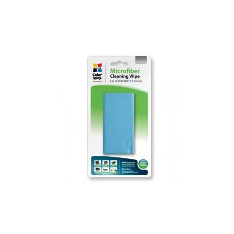 Colorway microfiber rengøringsklud til screen og monitor cleaning (cw-6108)
