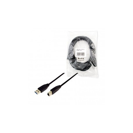 Logilink usb 3.0 cable a-male to b-male 3m