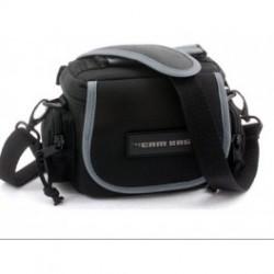 Her kan du købe en god fototaske, med nogle gode extra rum. den kan bæres i hank, bærerem eller bælte