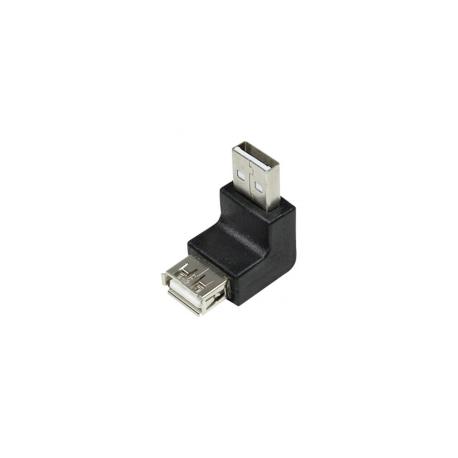Logilink usb 2.0 vinkel adaptor m/ f