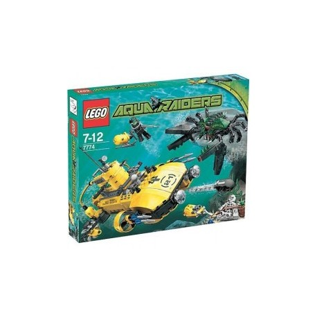 "Lego aqua raiders ""crab crusher"""