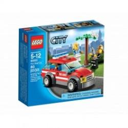 Lego city brandchefens bil