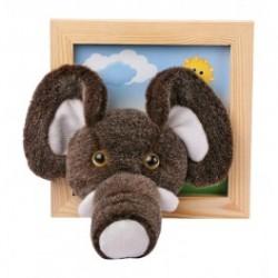 3d billede med elefant