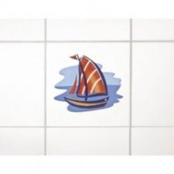 Wenko 3d dekortion, sejlbåd