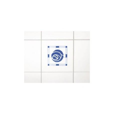 Wenko 3d dekortion, blå rose