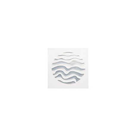 Wenko 3d dekortion, sølv cirkel