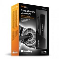 Colorway premium kit til kameraer og videokameraer (cw-7798)