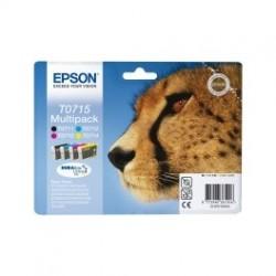Epson, gepard blæk serien, t0711, t7012, t7013, t0714