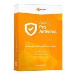 Avast antivirus pro - 3 pc'er
