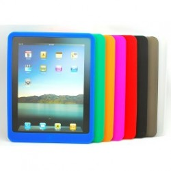 Ipad silicone cover til ipad 2, 3 og 4