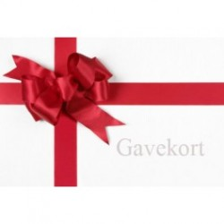Gavekort, 750 kr.