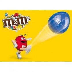 M&m's peanuts fodbold