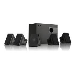 Aktivt højttalersystem stereo med subwoofer 5.1
