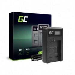 Green Cell Charger CB-2LD, CB-2LF for Canon NB-11L, PowerShot A2300 IS A2400 IS A3400 IS A3500 IS SX400 SX410 SX420 IS 9