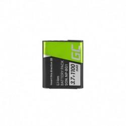 Green Cell ® Digitalkameras Akku für Sony DSC H10 H20 H50 HX5 HX10 T50 W50 W70 3.7V