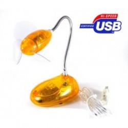 Usb ventilator med lys