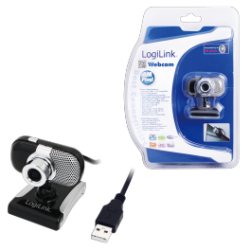Logilink webcam 8m pixel & mic