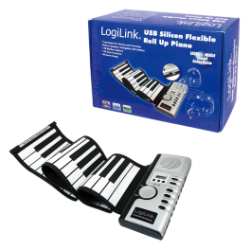 Logilink usb roll up piano kit