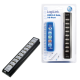 Logilink 10-port usb 2.0 hub incl. 3.5a ps, black