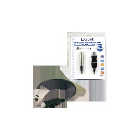 Logilink adapter usb to xlr microphone