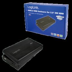 Logilink enclosure 3.5 inch ide hdd usb 2.0 alu