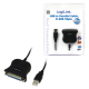 Logilink usb 2.0 to paralell adapter db 25 female usb 2.0