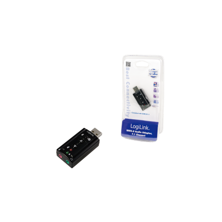 Logilink usb soundcard with virtual 7.1 soundeffects