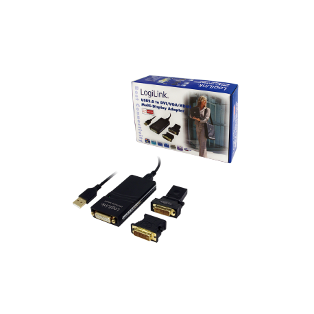 Logilink usb to vga/dvi/hdmi display adapter