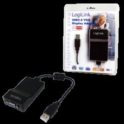 Logilink usb to vga display adapter