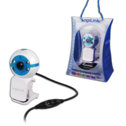 Logilink webcam usb 1,3 megapixel w/ led & mic