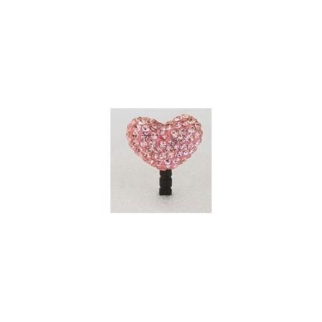 Sushimi pink krystal hjerte
