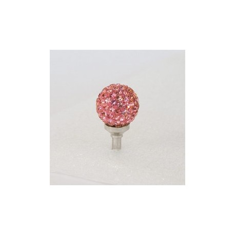 Sushimi pink krystal kugle