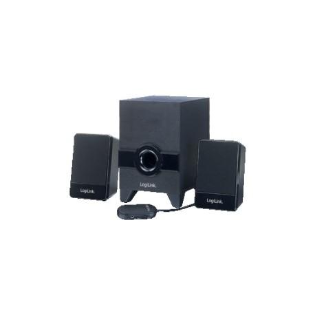Aktivt stereohøjttalersystem med subwoofer 2.1