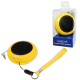 Logilink portable lithium ion battery powered speakers yellow