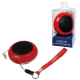 Logilink portable lithium ion battery powered speakers red