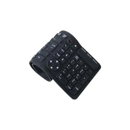 Rul sammen tastatur i gummi