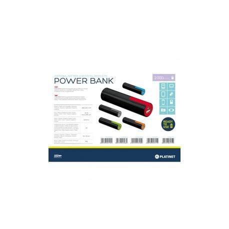Platinet power bank 2000mah + microusb kabel