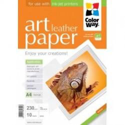 """Fotopapir colorway art blank tekstur """"læder"""" 230 g / m², a4, 10 ark (pga230010la4)"""