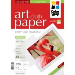 """Fotopapir colorway art blank tekstur """"klud"""" 230 g / m², a4, 10 ark (pga230010ca4)"""