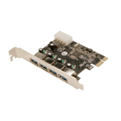 Logilink pci-express card, 3+1x usb 3.0, via