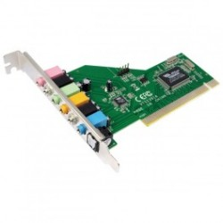 Logilink pci card sound card 7.1, via chipset