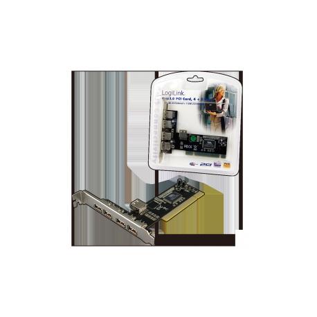 Logilink pci interface card usb 2.0 4+1x
