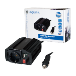 Logilink power inverter m / usb 150 w