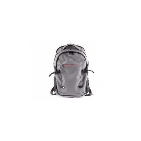 Natec laptop backpack alpaca grey 15,6