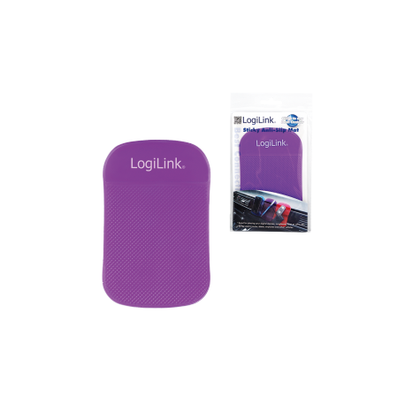 "Logilink ""anti slip mat"" violet"