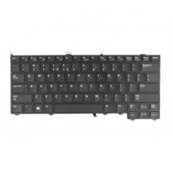Green Cell Keyboard for Dell Latitude E7240 E7420 E7440 Backlit