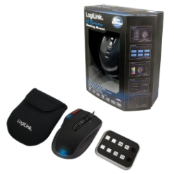 Logilink q1 revolution gaming laser mouse usb