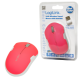 Logilink mouse, wireless 2,4g, optical neon-pink